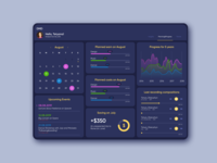 Dashboard for personal use