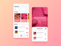 App for Scan Fabrics