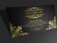 Regal Party Invitation