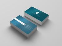 Visit Card 1 Blue