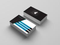Visit Card 2 Blue