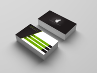 Visit Card 2 Green