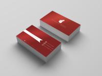 Visit Card 1 Red