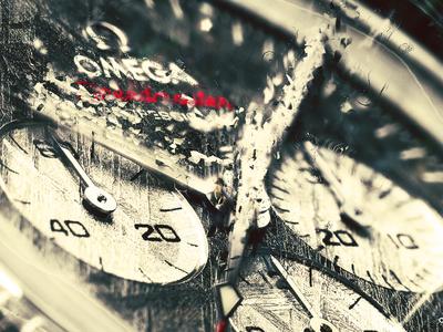 Omega Yiolo omega watch digitalart photomanipulation