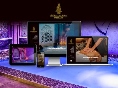 Heritagesdumaroc webdesign wordpress yiolo