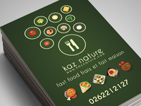 Kaznature Business card