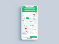 DailyUI 020 :: Location Tracker