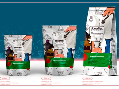 Coffee pack packagedesign branding illustration minimal design illustrator vector