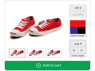 E-commerce Product card