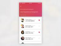 An App for a Recruitment Startup