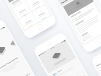 iOS App Wireframes