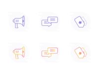 Icons Freebie - Gradient? No Gradient?