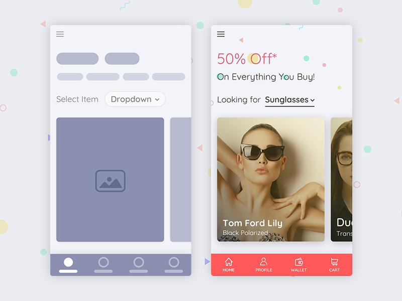 Freebie – Product Home Screen