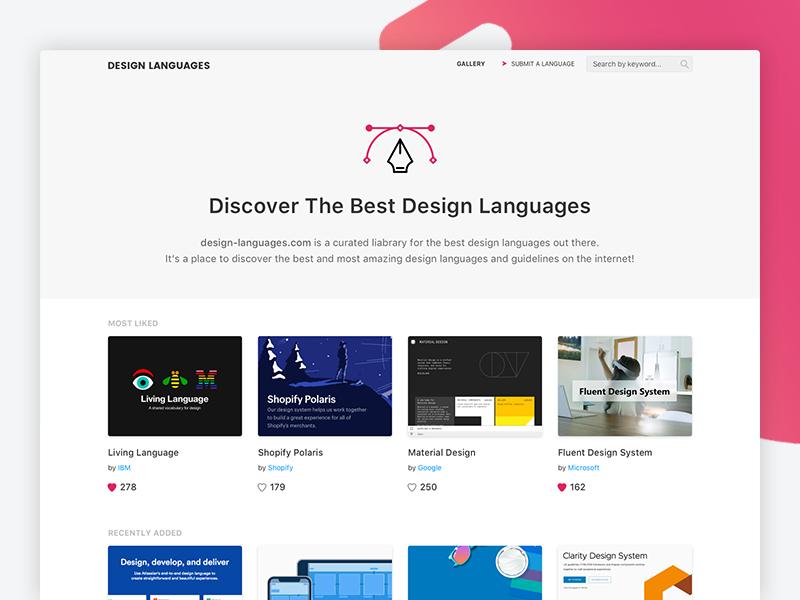 Design Languages - Side Project