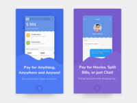 Fintech UI Kit - Freebie - Onboarding Screens