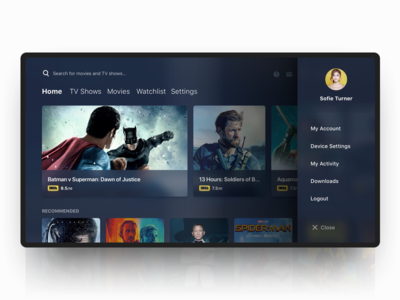 Android Tv designs, themes, templates and downloadable graphic