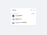 FREE - Search Widget Interaction