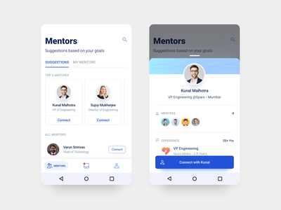 Thread - Android App Design - 7 user experience user interface shadow gradient material app ux ui typography sketch mobile minimal material ui interface illustration flat design android