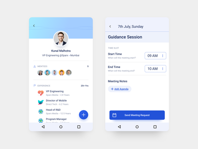 Thread - Android App Design - 8 user interface user experience ux ui typography sketch mobile minimal material ui interface illustration flat design onboarding app android