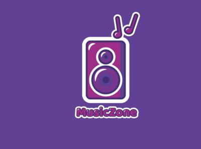 MusicZone Logo Warm Up