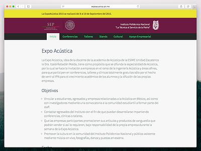 Expoacústica IPN expoacustica ipn