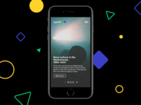 Ljud Mobile Homepage