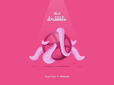 First Shot Dribbble logo design logo thanks invite illustration octopus invitations dribbble flatdesign specialistlogo logodesigner hello dribble first shot firstshot
