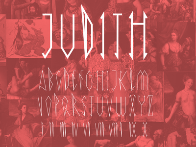 Judith Display Typeface