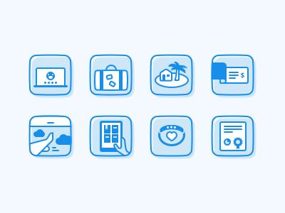 Buffer Perks and Benefits buffer hiring job benefits perks flat illustration icon