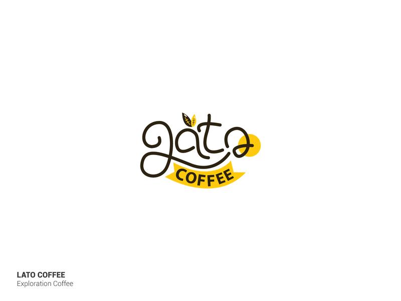Logo Lato Coffee illustration identity brand vector logogram illustrator contest logotype logo branding design