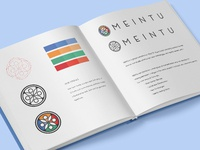 Meintu Logo Brand Identity with Grid