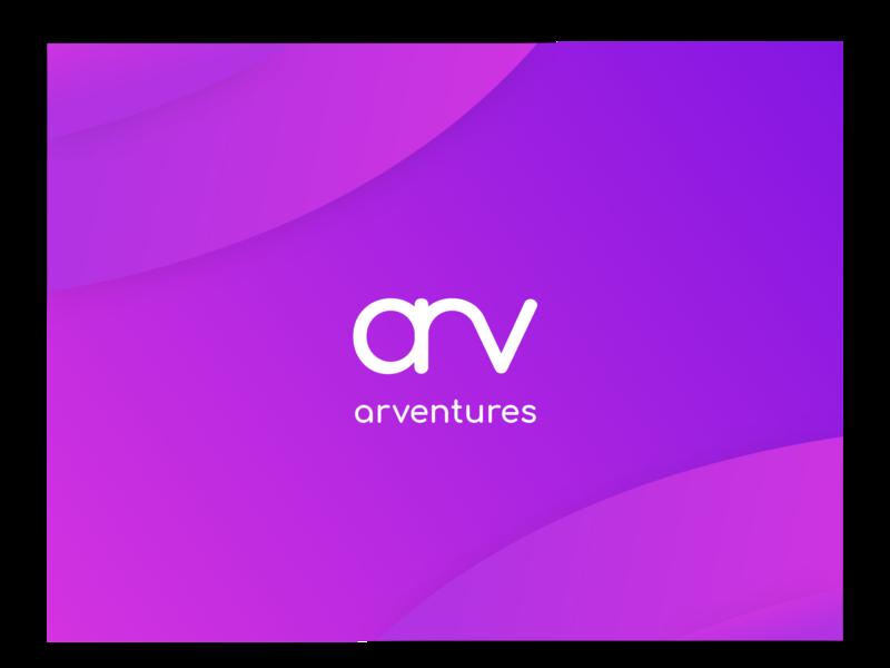 arv logo minimalism gradient logodesign logotype logo design