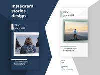 Instagram stories design
