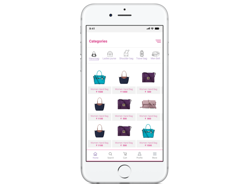 product screen ui design uidesign product screen mobile ui