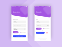 Sign Up page | Daily UI Design Challenge