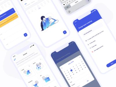 To do list design   Mobile app