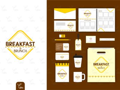 Logo and Stationery Design for Breakfast & Brunch