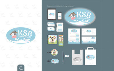 Logo and Stationery Design for Koperasi Susu Batu