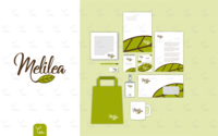 Logo and Stationery Design for Melilea