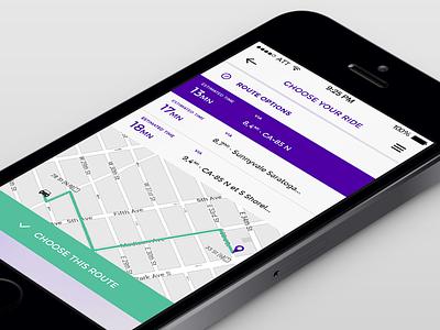 Google car concept google car concept app mobile dribbble map