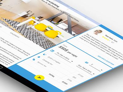Airbnb Material Design airbnb tablet interface google android app ux ui design travel material design app design