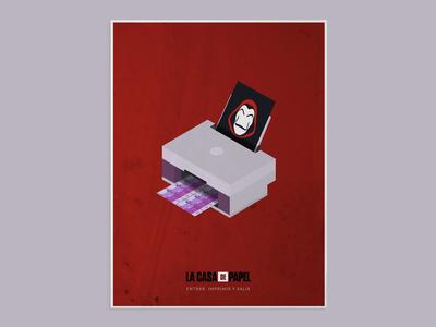 La Casa de Papel - Poster