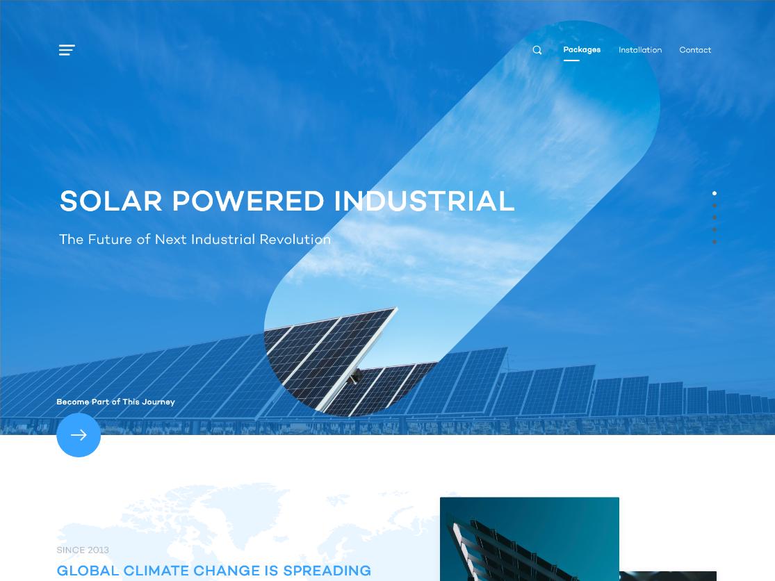 Solar Engineering (V 2.0) - Modern Minimalism branding solar energy solar panel illustration adobexd ui