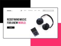 RUCKSACK Music Brand-Concept Idea