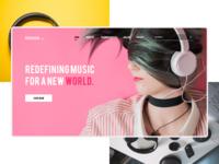 RUCKSACK Music Brand - Concept Idea 2