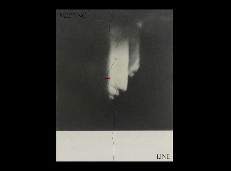 MEETING LINE poster design poster a day minimalist minimalistic simple design
