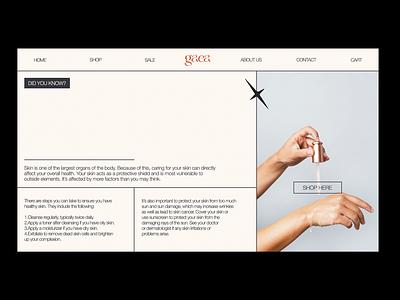 Homepage for GAEA ui design uiux website minimalist webdesign website design homepagedesign