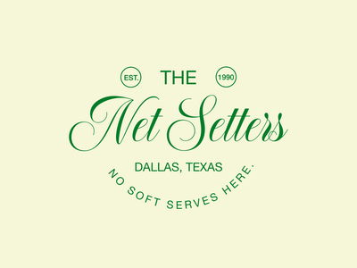 THE NET SETTERS branding design branding minimalism logo design graphic design simple design luxury logo elegant logo logo designer logo design tennis logo tennis