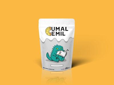 Cumal Cemil - Paper Pouch Packaging Mockup food mockups mock up package mockup package design package design