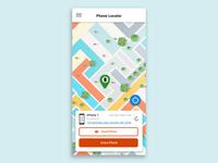 Phone Locater concept